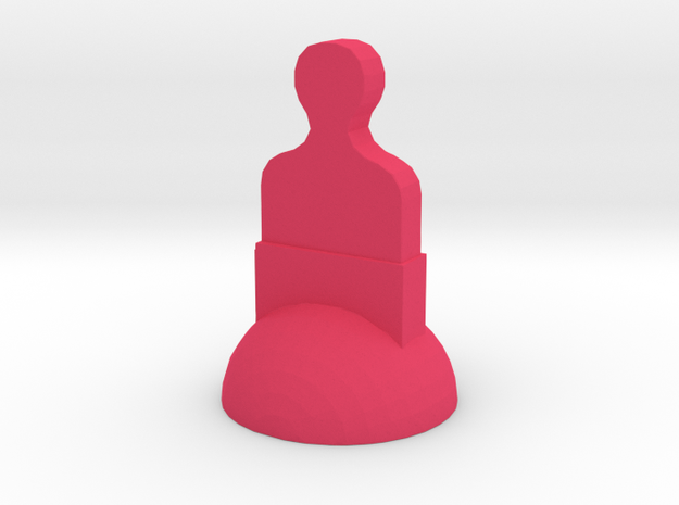 Star Trek Pawn in Pink Processed Versatile Plastic