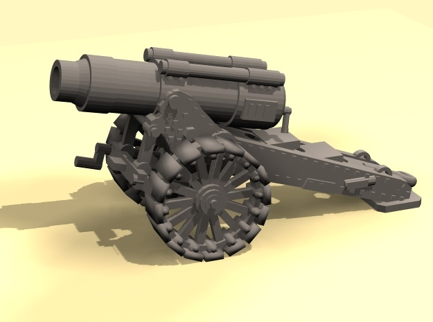 28mm Steampunk Heavy Mortar v.2