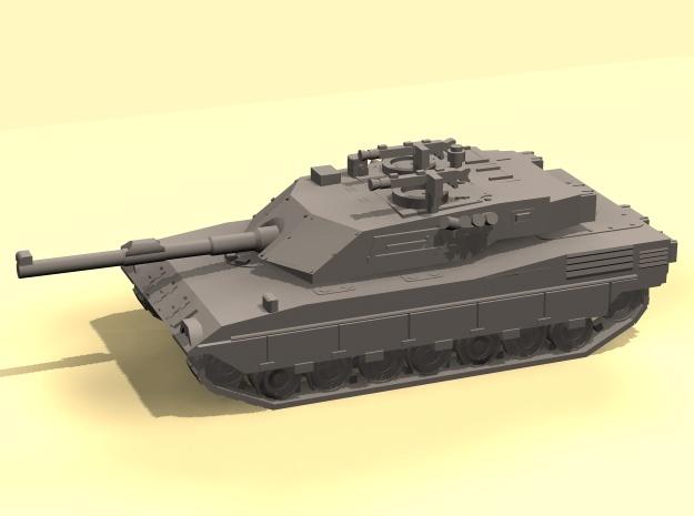 1/100 Ariete C1 Tank in White Natural Versatile Plastic