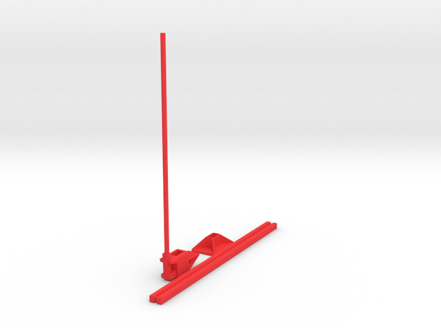 ratboy High Lift Jack in Red Processed Versatile Plastic