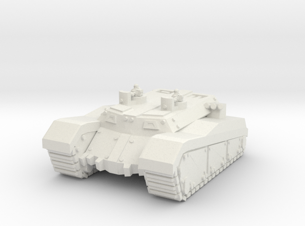 Cannibal Transport (ANCO - A3) in White Natural Versatile Plastic