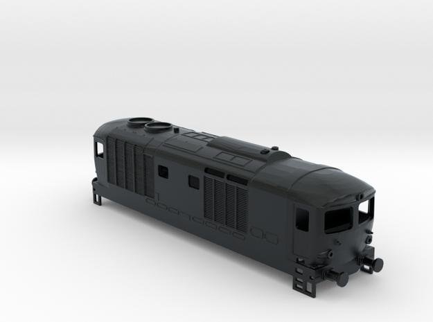 FS  D445.1001-1035 vetri piatti in Black Hi-Def Acrylate