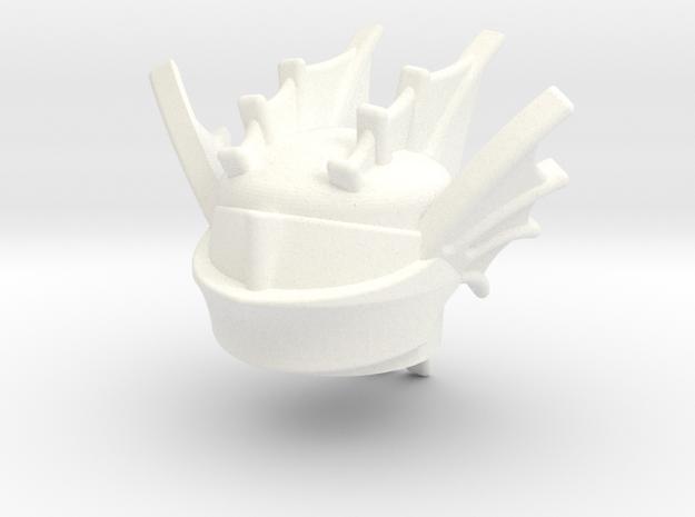 Draco1 in White Processed Versatile Plastic