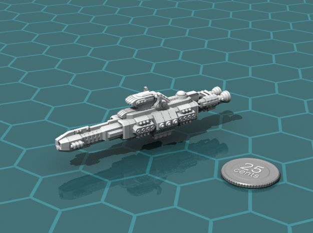 Chukulak Heavy Cruiser in White Strong & Flexible