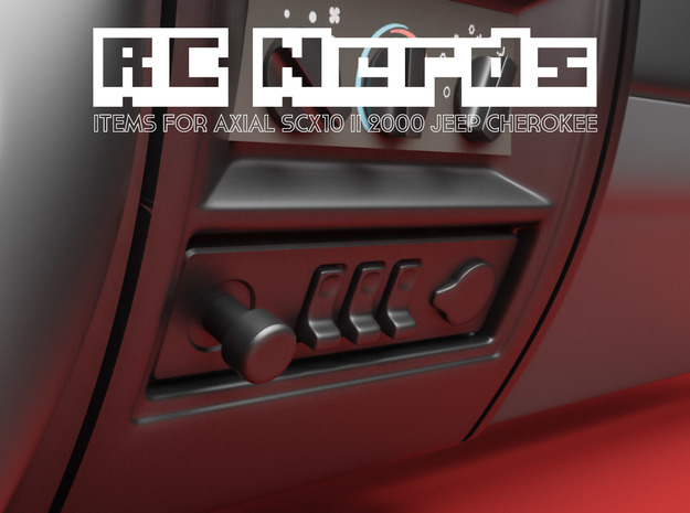 RCN029 bottom panel for Axial Scx10 II dashboard