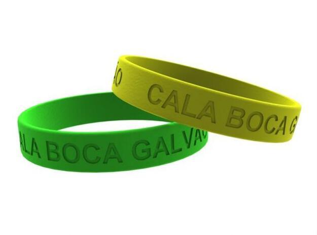 CALA BOCA GALVAO 3d printed Bracelet, pulseira, reminderband