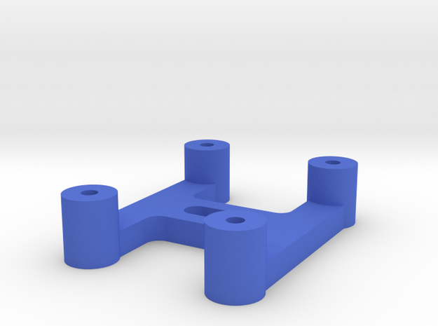 Mini Arduino Mount in Blue Strong & Flexible Polished