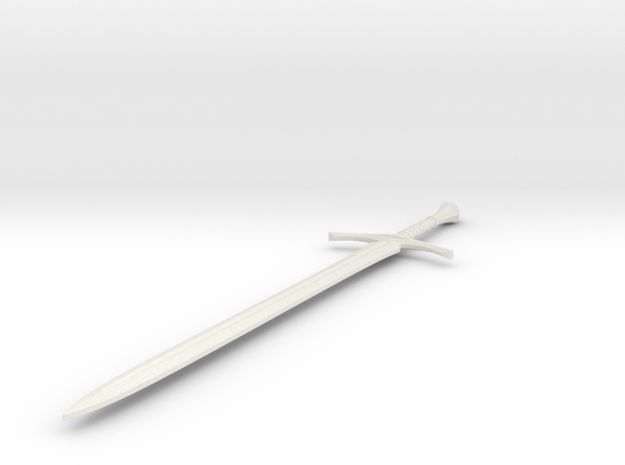 Glamdring - 63mm in White Strong & Flexible