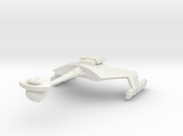 3788 Scale Klingon D7B Battlecruiser WEM in White Natural Versatile Plastic