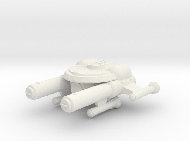 3788 Scale Seltorian Heavy Cruiser (CA) MGL in White Strong & Flexible