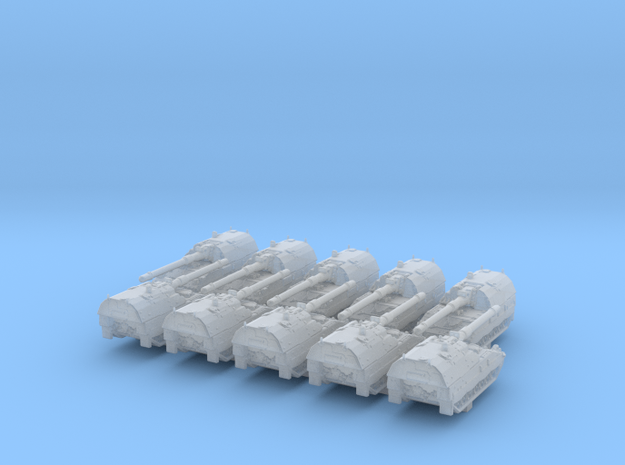 1/700 German Panzerhaubitze 2000 SPG x10