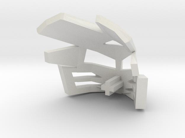 KAKAMA in White Natural Versatile Plastic: 1:8