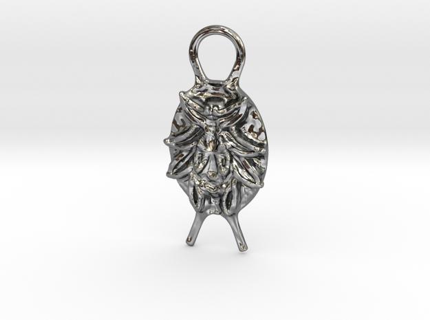 SMK Persian Pendant (Gijsbrechts) in Fine Detail Polished Silver
