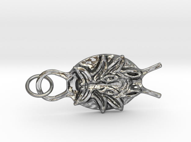 SMK Persian Charm (Gijsbrechts) - with ring in Interlocking Polished Silver