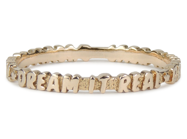 Dream It Real Ring (Multiple Sizes) in Polished Bronze: 6 / 51.5