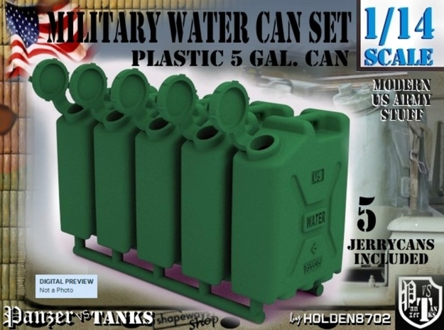 1-14 Military Water Can 5 Units