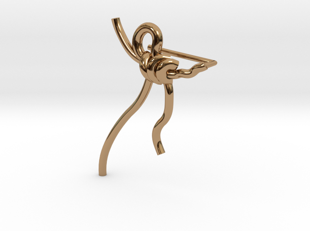 Melancolia Err in Polished Brass