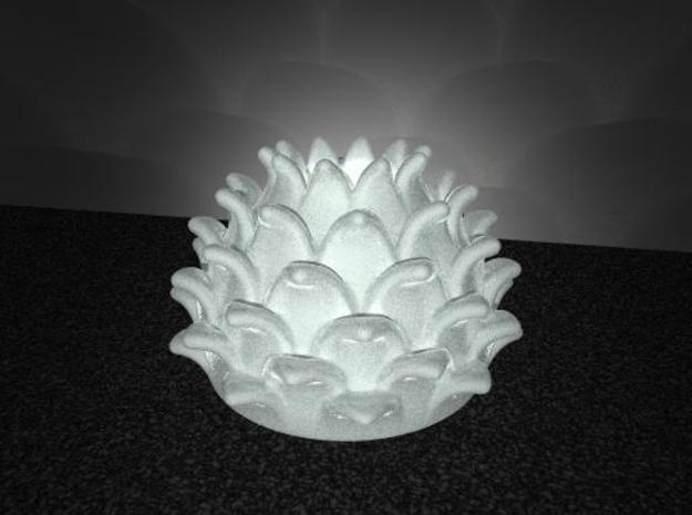 Thistle Tea Light Cover 3d printed