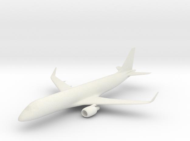 Embraer E190 in White Strong & Flexible
