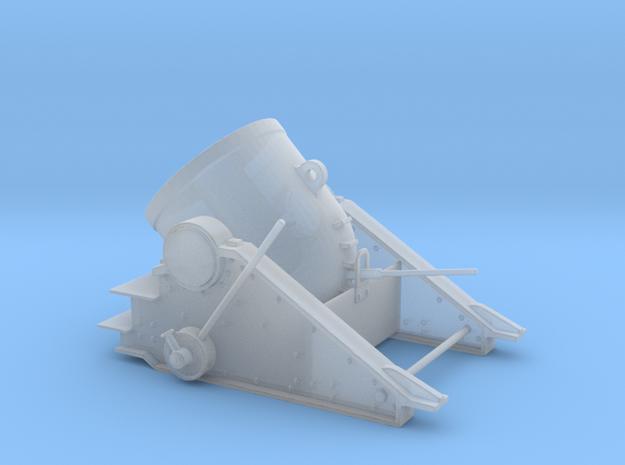 Yorktown 13 inch Mortar   in Smooth Fine Detail Plastic