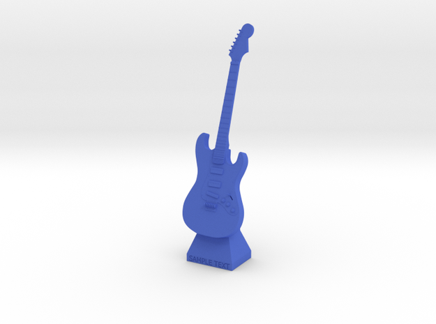 Electric Guitar Small Statue