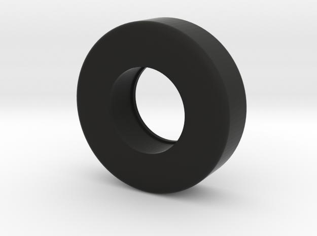 Scale Model Rear Drag Slick 9-30-15 in Black Strong & Flexible