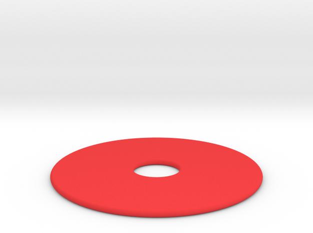 27.5 Rood in Red Processed Versatile Plastic