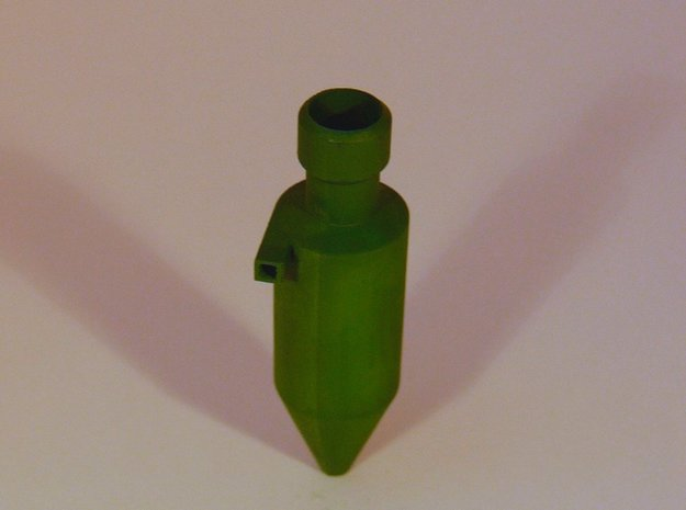 Zyklonfilter V2 1:120 in Smooth Fine Detail Plastic