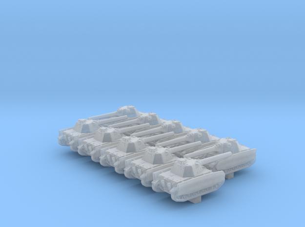 1/700 German Pz.Kpfw. IV Schmalturm Tank x10 in Smoothest Fine Detail Plastic