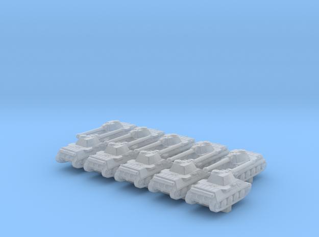 1/600 German VK 30.01 (D) Medium Tank x10 in Smoothest Fine Detail Plastic