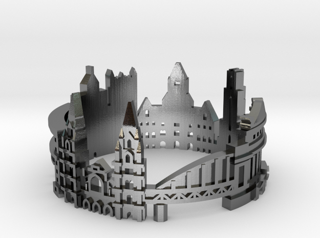 Pittsburgh Skyline - Cityscape Ring