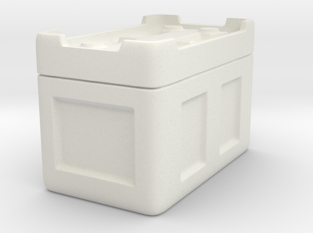 Sulaco Cargo Bay Box  in White Natural Versatile Plastic