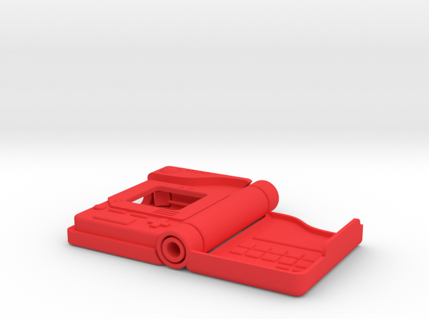 Pokedex Case for Apple Watch 42mm in Red Processed Versatile Plastic