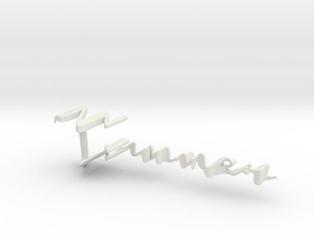 3dWordFlip: Tanner/Maria in White Strong & Flexible