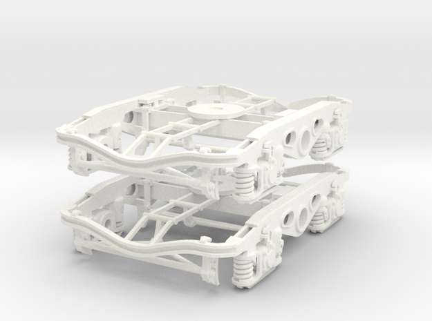 Y27 Type 2 7mm pair in White Processed Versatile Plastic