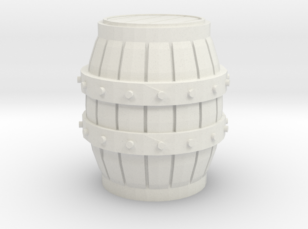 S Scale 3 Ft Barrel