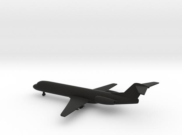 Fokker 100 in Black Strong & Flexible: 1:350