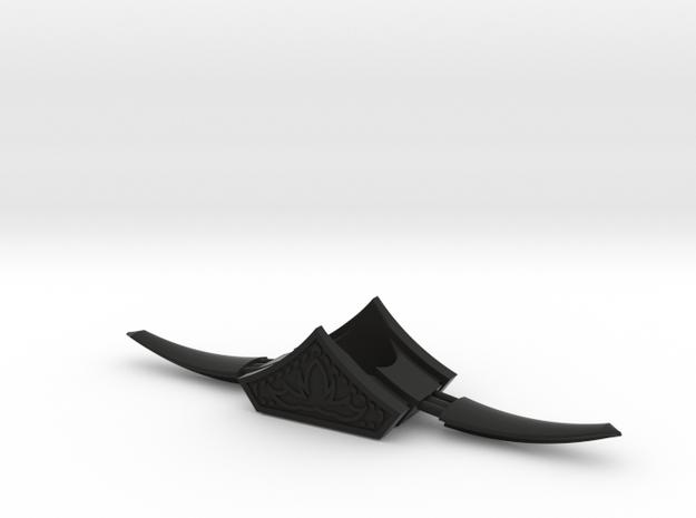 Medieval Style V3 in Black Natural Versatile Plastic