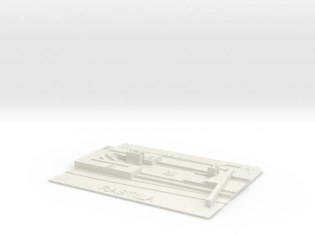 Rastila Metroasema in White Natural Versatile Plastic
