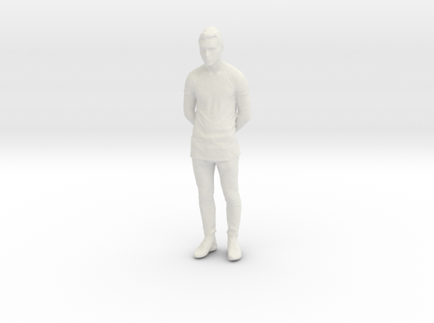 Printle C Homme 822 - 1/24 - wob in White Natural Versatile Plastic