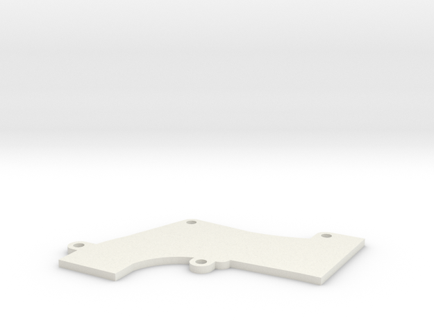 Nishijin A Top Elbow Cover in White Natural Versatile Plastic