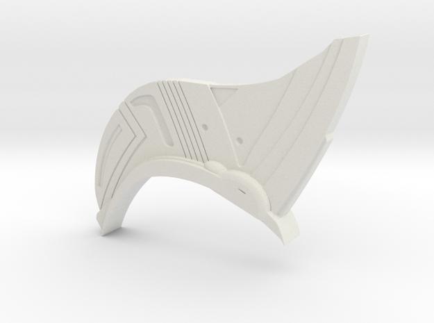 Yondu Udonta Prototype Head Fin in White Natural Versatile Plastic