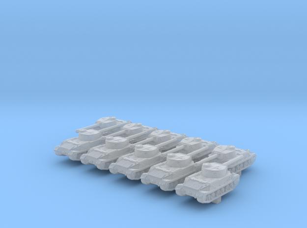 1/700 German Tiger (P) Heavy Tank x10 in Smoothest Fine Detail Plastic