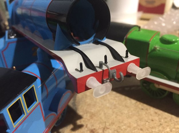 00/H0 Replacement Buffers - NWR #4 (A4) in Smoothest Fine Detail Plastic
