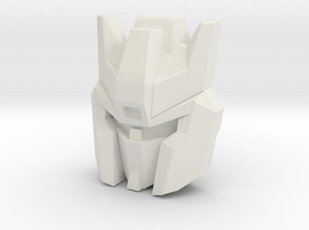Skyfall Face (Titans Return) in White Strong & Flexible