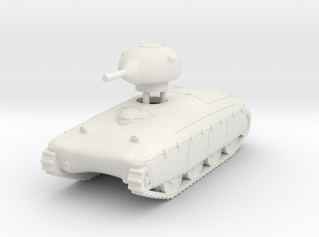 1/72 AMX-40 in White Natural Versatile Plastic