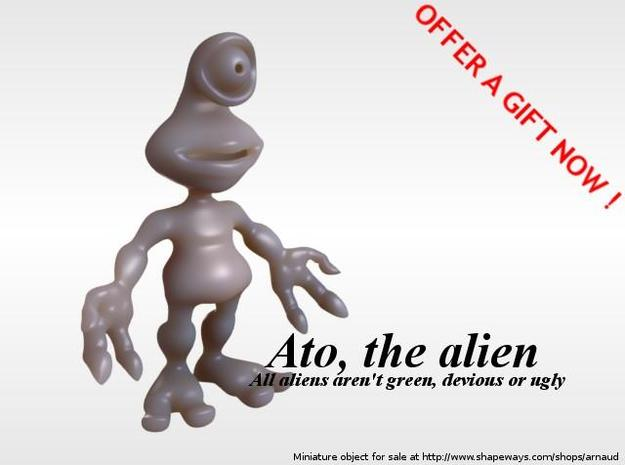 Ato, the Alien 3d printed Main image