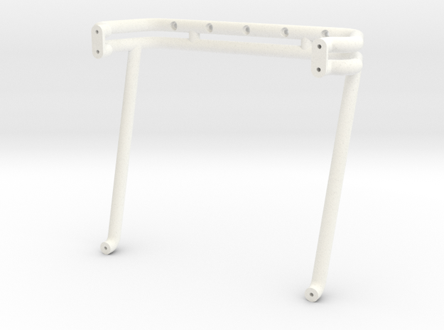 """1988 Chevy """"USA-1"""" Rollbar in White Processed Versatile Plastic"""