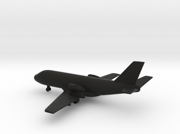 VFW-Fokker 614 in Black Natural Versatile Plastic: 6mm