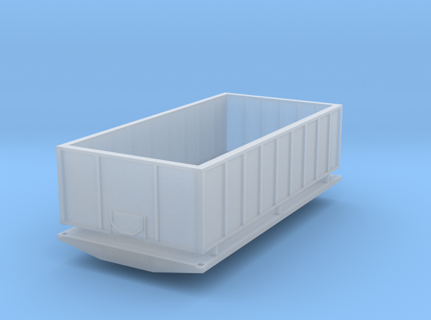 16 foot slatted box in Smooth Fine Detail Plastic